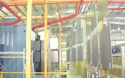 Powder Coat Finishing Turnkey Systems