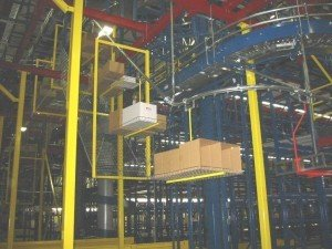 empty carton and trash removal hybrid conveyor system
