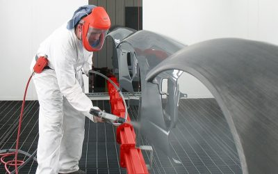 Inverted Conveyor for High Quality Paint Finishing
