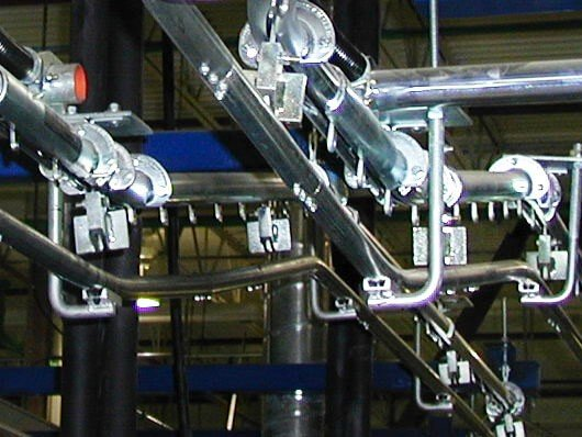 low cost power assisted manual conveyor.