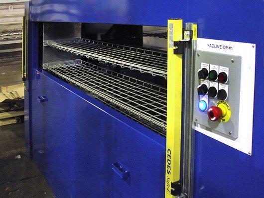 PAC-RAK vertical storage conveyor system photos