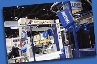Pacline Overhead Conveyor Trade Show appearances.