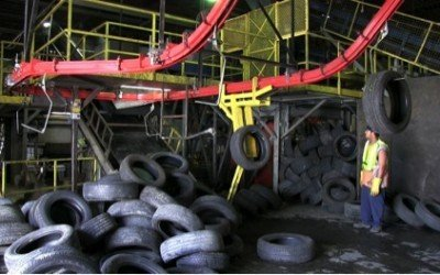 Turning Tires into Tiles and More!