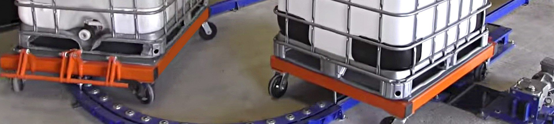Pacline conveyor testing facility header image