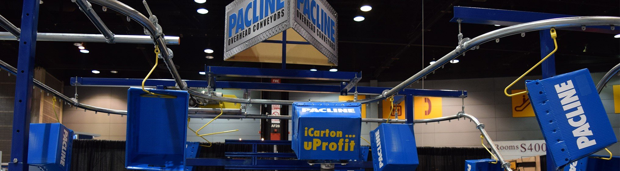 Pacline Overhead Conveyors at ProMat Show 2015