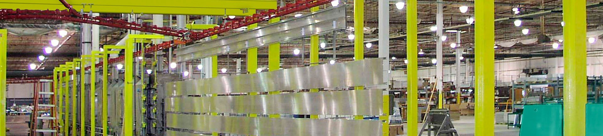 Conveyors to automate cleaning and other pre-treatment steps for metal finishing operations.