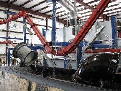Heavy Duty Paint Finishing Conveyor Case Study Pacline