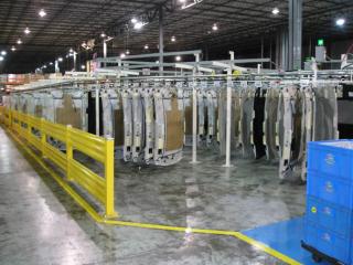 automated storage and retrieval conveyor