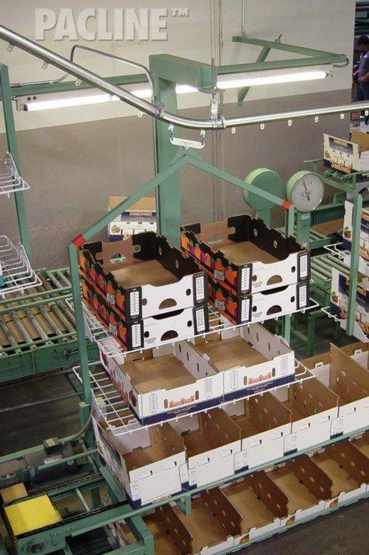 Empty Carton And Tote Handling Conveyor Photos Pacline