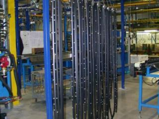 Power Assisted Manual Overhead Conveyor Photos Pacline
