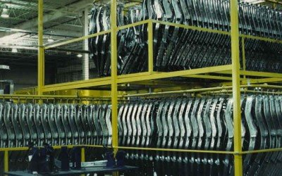 Automotive Parts Accumulation Conveyor System
