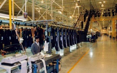Three-tier Buffer Zone Accumulation Conveyor