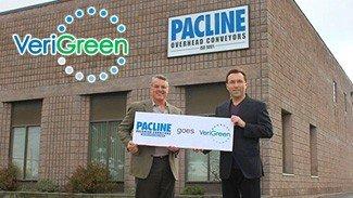 Pacline Reduces Energy Consumption