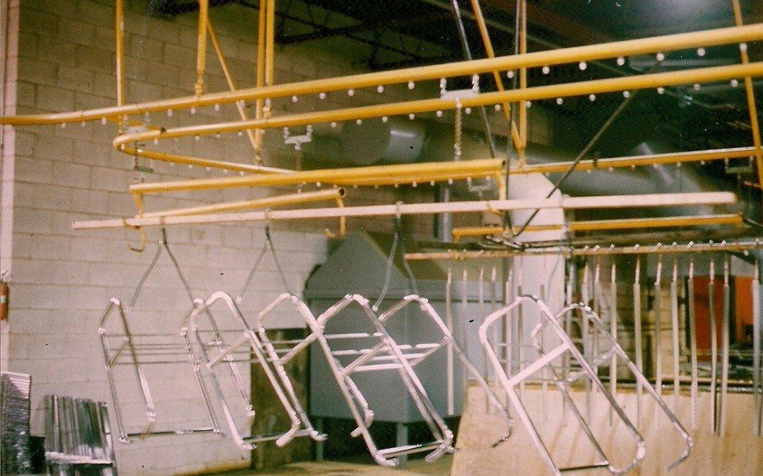 Overhead Conveyor Automates Electroplating System