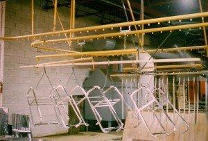 electroplating conveyor system