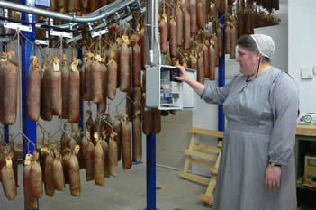 Traditional Sausage Business Goes High Tech