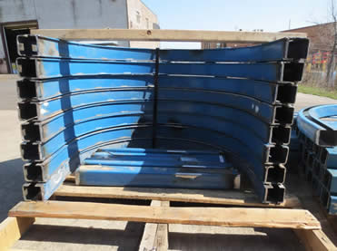 Used Enclosed Track Overhead Conveyors Pacline
