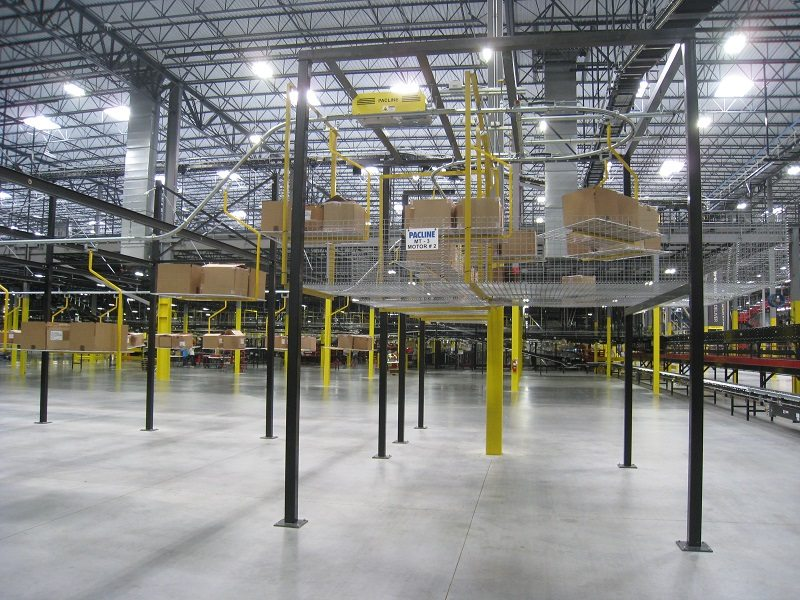 Miles of Conveyors for Under Armour® Distribution House