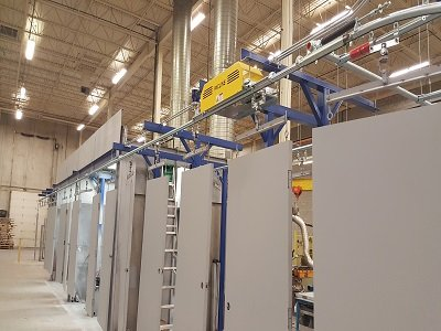 Overhead Conveyors for Doors and Windows long