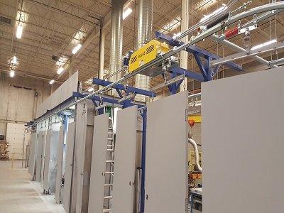 Overhead Conveyors for Doors and Windows long