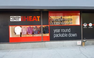 Storefront Display Conveyor for Pack-able Jackets!