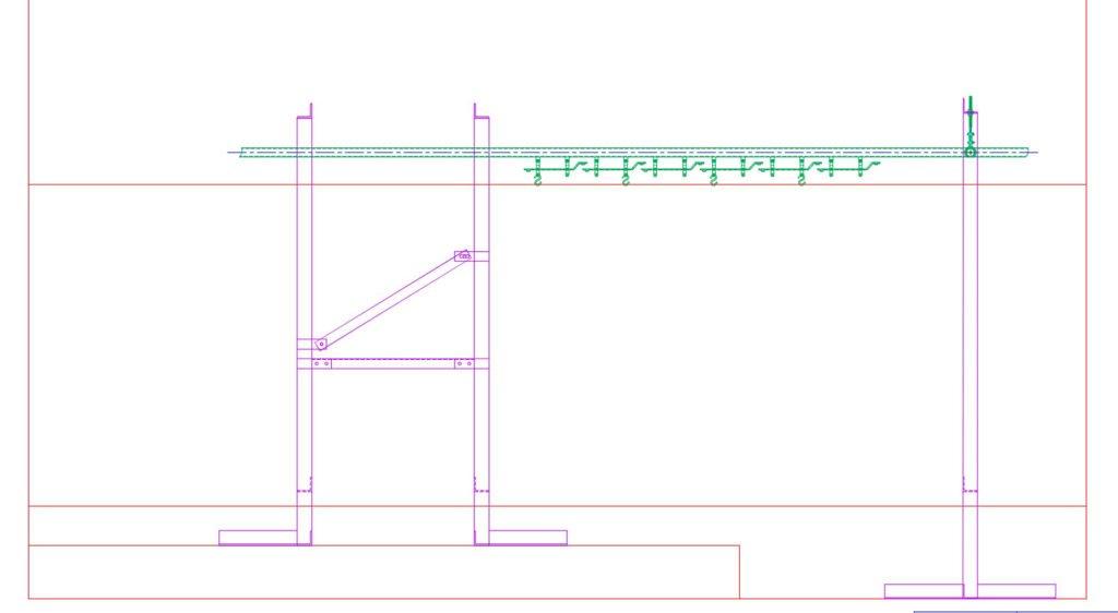 32 Degrees Storefront Display Conveyor Floor Stands