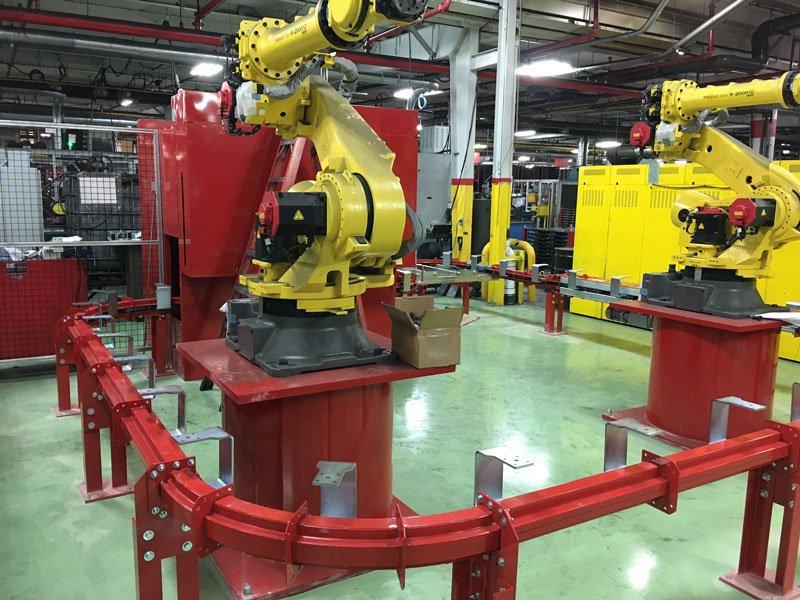 Chain-on-Edge Conveyor Alternative Sideslot