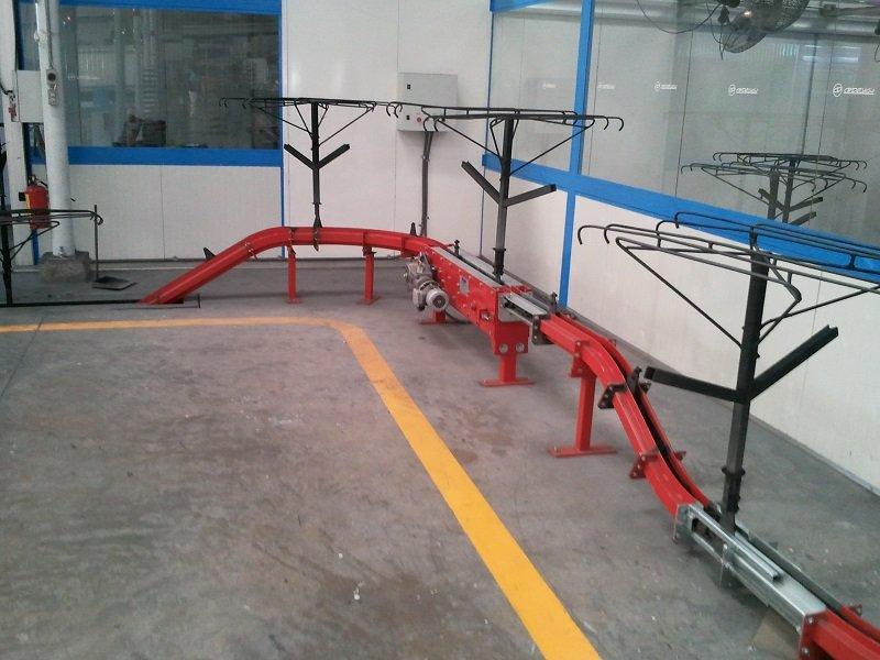 Chain-on-Edge Conveyor Alternative Elevation Changes