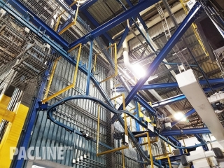Power-and-Free-conveyor-for-heat-treating-of-automotive