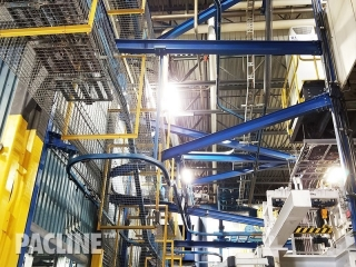 Unibilt power and free conveyor system for automotive parts