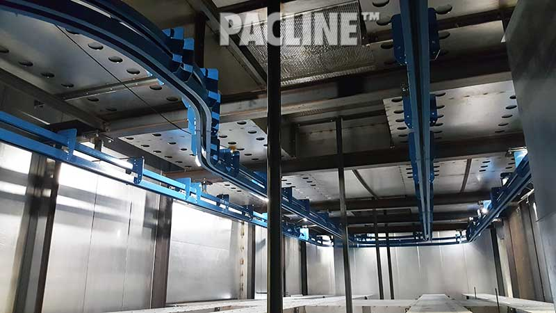Unibilt enclosed track conveyor Power and Free