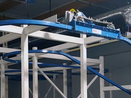 unibilt enclosed track conveyors