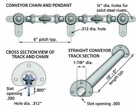 cross-section-view-track-and-chain