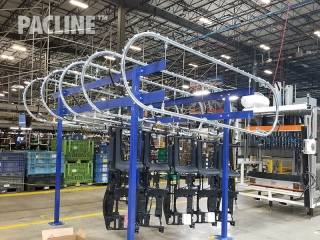 Overhead Conveyors for Buffering Instrument Panels