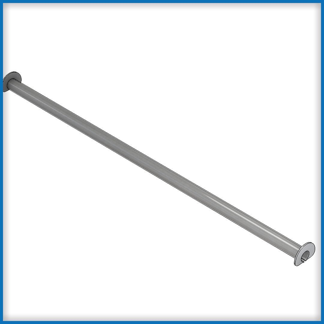 T-250 Straight Track Long sections overhead conveyor part