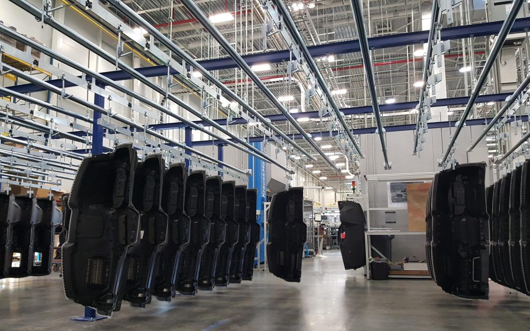Automotive Parts Storage Conveyors