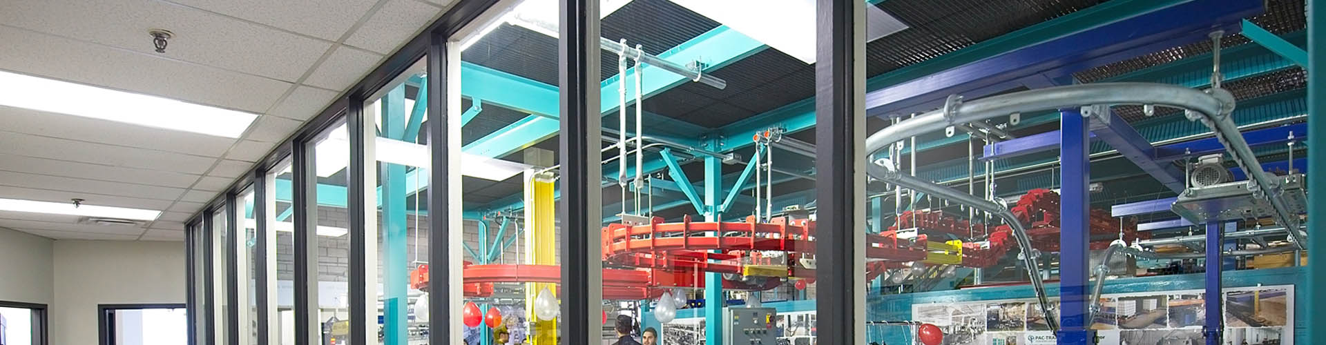 Pacline conveyor testing facility header image