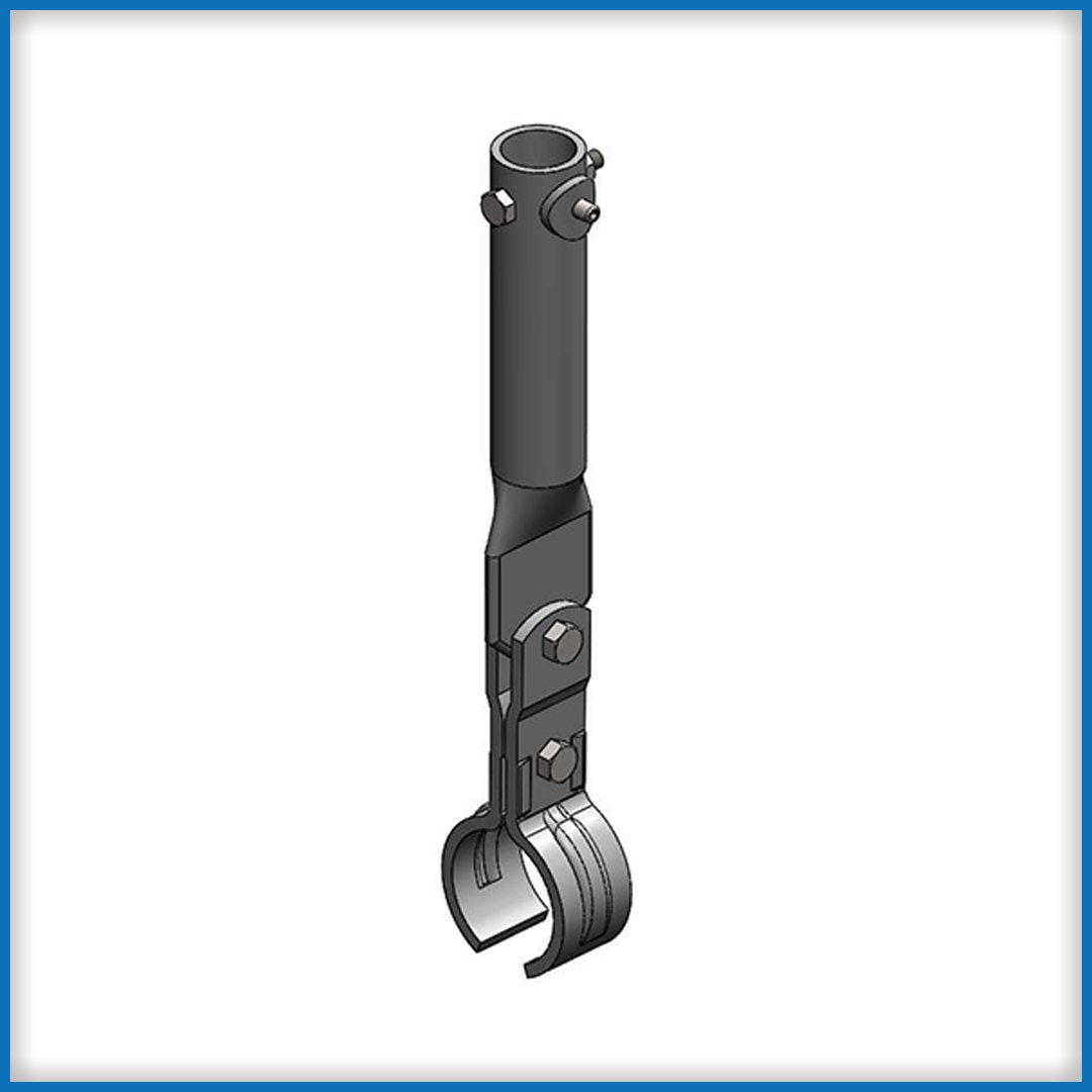 TH-300 Track Hanger Clamp with Sleeve