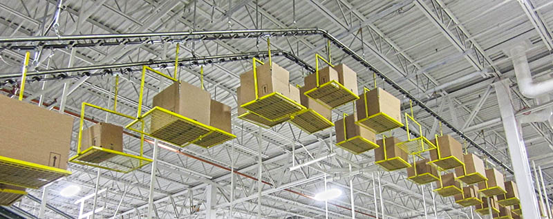 learn about overhead conveyors