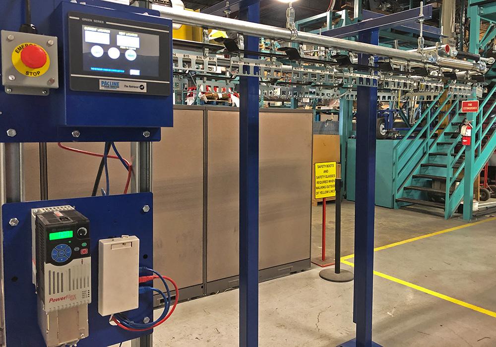 pacline conveyor retriever system