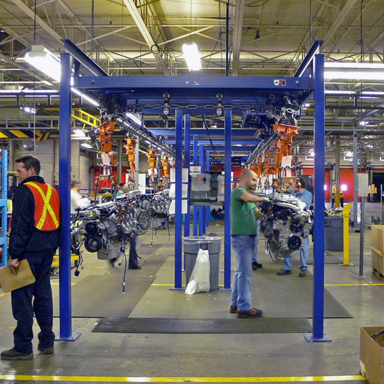 Engine Assembly Line